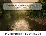 inspirational motivating quote... | Shutterstock . vector #583956895
