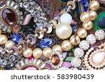 stunning jewelries crystals... | Shutterstock . vector #583980439