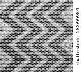 abstract grunge grid polka dot... | Shutterstock .eps vector #583999801