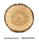 Large Circular Piece Of Wood...