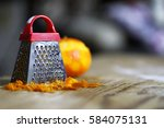 Grater Zest Of Citrus Fruit An...