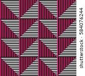 seamless vector abstract... | Shutterstock .eps vector #584076244