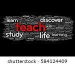 teach word cloud collage ...