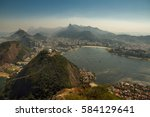cityscape view from the... | Shutterstock . vector #584129641