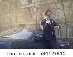 business call | Shutterstock . vector #584129815