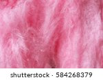 sweet cotton candy  closeup | Shutterstock . vector #584268379