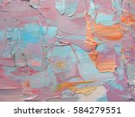 colorful abstract painting... | Shutterstock . vector #584279551
