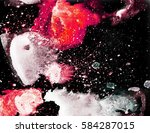 oil painting on canvas.... | Shutterstock . vector #584287015