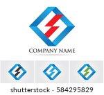s box logo | Shutterstock .eps vector #584295829