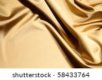 Gold Textile Background