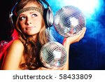 disco girl | Shutterstock . vector #58433809