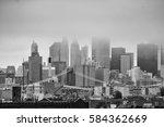 cityscape of ny | Shutterstock . vector #584362669