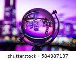 Crystal Globe With Blur...