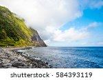 atlantic coastline of s o... | Shutterstock . vector #584393119