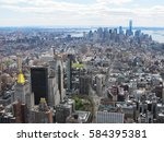 new york city skyline | Shutterstock . vector #584395381