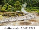 furnas fumaroles | Shutterstock . vector #584414971