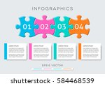 modern options banners... | Shutterstock .eps vector #584468539