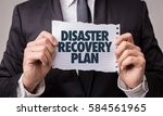 disaster recovery plan | Shutterstock . vector #584561965