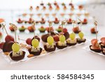 candy bar. delicious sweet... | Shutterstock . vector #584584345