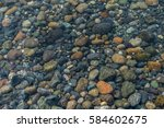 a view of rocks beneath... | Shutterstock . vector #584602675