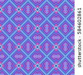 geometric seamless pattern in...
