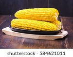 Sweet Corn  Butter And Salt
