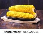 Sweet Corn  Butter And Salt
