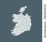 map of ireland   Shutterstock .eps vector #584653315