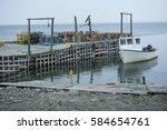 Fishing Boats Docked On...