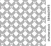 seamless geometric vector... | Shutterstock .eps vector #584665495