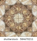 Beautiful Stone Tile Pattern...