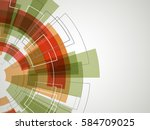 abstract technology background. ...