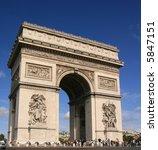 arc de triomphe | Shutterstock . vector #5847151