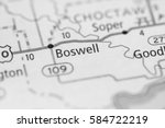 Small photo of Boswell. Oklahoma. USA