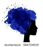 international womens day... | Shutterstock .eps vector #584724019