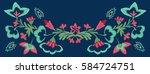 original  colorful  designer ... | Shutterstock .eps vector #584724751