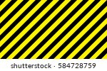 line yellow and black color... | Shutterstock .eps vector #584728759