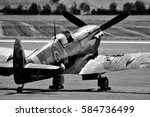black and white spitfire...