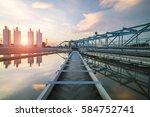 water treatment plant | Shutterstock . vector #584752741