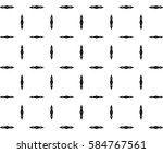 ornament with elements of black ... | Shutterstock . vector #584767561