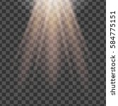 isolated spotlight. light... | Shutterstock . vector #584775151