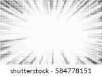 explosion vector illustration.... | Shutterstock .eps vector #584778151