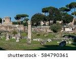 Small photo of Basilica Aemilia at the Roman Forum.