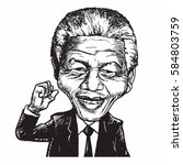 Nelson Mandela Cartoon...