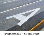 dedicated lanes for public... | Shutterstock . vector #584816905