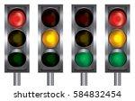 traffic light | Shutterstock .eps vector #584832454