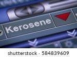index of kerosene. down.   Shutterstock . vector #584839609