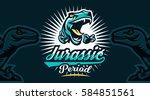 vector illustration  identity ... | Shutterstock .eps vector #584851561