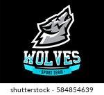 vector illustration  logo ... | Shutterstock .eps vector #584854639