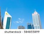 perth  western australia  ... | Shutterstock . vector #584855899